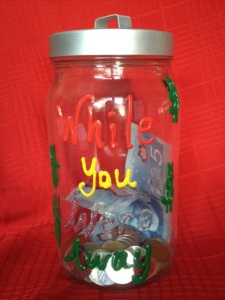 Our absence jar!