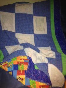 Ethan's deployment blanket